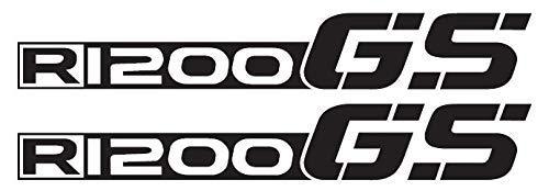 2 Adesivi Fianco Serbatoio Moto R 1200 gs LC becco ROSSO