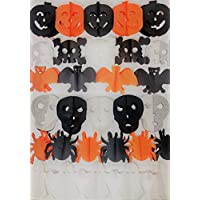 YLAB - Jumbo Pack: 6 Halloween Banners, Each are 2m Long - Bunting/Garland