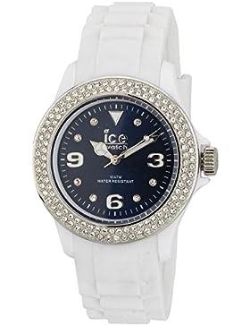 Ice-Watch Armbanduhr ice-Blue-Stone Unisex WeissŸ/Blau IB.ST.WBE.U.S.11