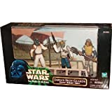 "Jabba`s Skiff Guards Set mit Klaatu, Barada und Nikto - Star Wars ""Power of the Force"" Collection von Kenner / Hasbro"