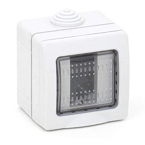 takestop® - Caja de 1 módulo para interruptores de Pared, JK_LK44001, IP55,...