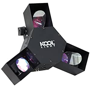 Kool Light Tri Scan Pack de 72 LEDs RVBWY