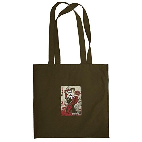 Texlab–Harley Queen–sacchetto di stoffa Marrone