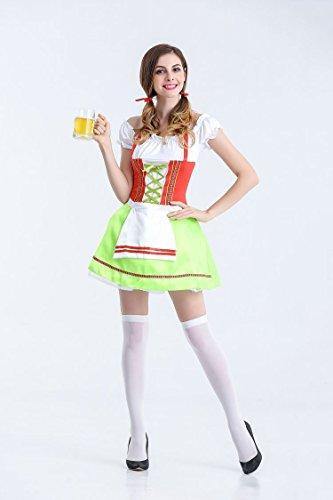 Halloween Kostüm,Halloween Kostüm Deutschland Oktoberfest Kleidung Bier Schwester Bar, Stil 2, L