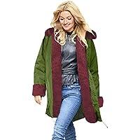 SUCES Mantel Damen Winter Warme Dick Pelz Frau Jacke Hooded Mode Oversize Outwear Locker Große Größe Kapuze Outdoor Luxus Winterjacke