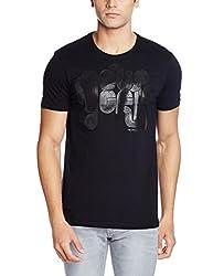 Arrow Newyork Mens T-Shirt (8907378473158_AKSY3127_Medium_Black)