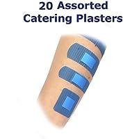 5Stück 20sortierte qualicare Premium Ultra Dünn Blau Catering First Aid Kit Wunde Schnitt Pflaster Dressings preisvergleich bei billige-tabletten.eu