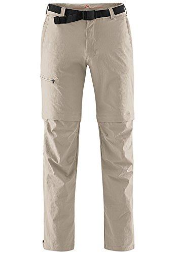 maier sports Herren Outdoor Hose T-zipp Tajo, Feather Gray, 29, 133003