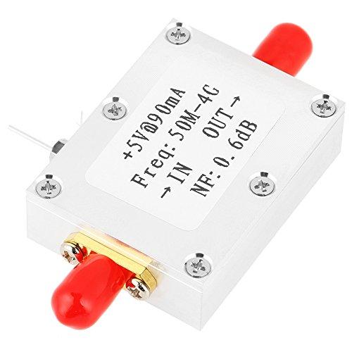 HF-Verstärker, rauscharmer 1pc Frequenzverstärker 50M-4GHz NF = 0,6 dB HF-UKW-HF-VHF/UHF-Amateurfunk -110 dBm LNA Vhf-uhf-repeater