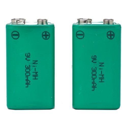 Galleria fotografica SB set di 2pile ricaricabili Ni-MH 9V PP3batterie tipo–alta capacità 300mAh