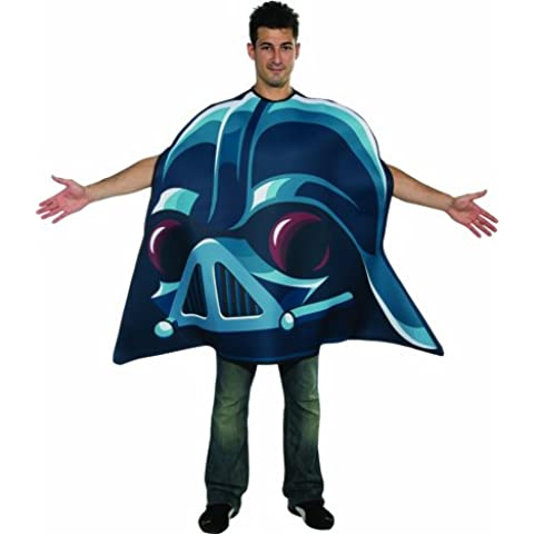Angry Birds Star Wars Hombre Disfraz Darth Vader Carnaval Talla 48–52