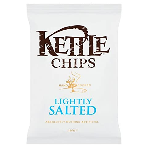 Kettle Potato Crisps - Kettle Chips Lightly Salted 150G