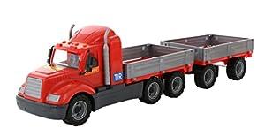 Polesie Polesie55545 Mike - Camión de Juguete con Remolque