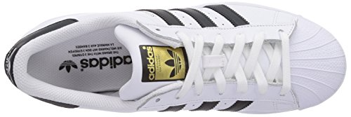 Adidas - Superstar, Sneakers da uomo Bianco (Ftwr White/Core Black/Ftwr White)