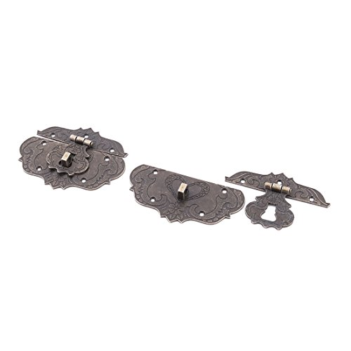 sourcingmapr-metal-wooden-boxes-jewelry-case-retro-latch-hasp-85mmx64mm-2pcs-bronze-tone