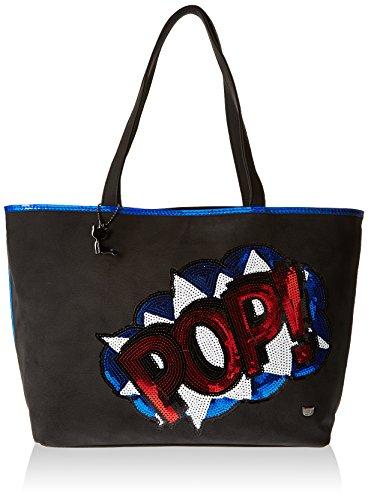 Lollipops Yukulele 22208, Borsa a spalla donna , Blu (Blu (Blue)), Taille Unique