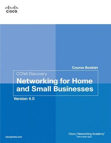 CCNA Discovery Course Booklet: Networking for Home and Small Businesses, Version 4.0 (Course Booklets) por Cisco Networking Academy