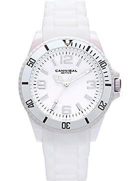 Junior Active weiß Rubber Strap & Weiß Zifferblatt Armbanduhr CJ209–01