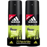 Adidas Pure Game Deodorant Body Spray For Men Combo, 150ml (Pack Of 2)