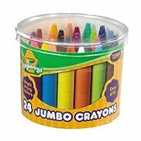 Supreme Crayola Beginnings 24 Jumbo Crayons --