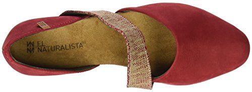 El Naturalista Nd57 Pleasant Stella, Sandali Closed-Toe Donna Rosso (Tibet)