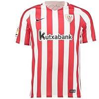 Nike Kinder Athletic Bilbao Y Dry Stadium Jersey Short Sleeve Hm  Fußballtrikot 7b3e04916d023