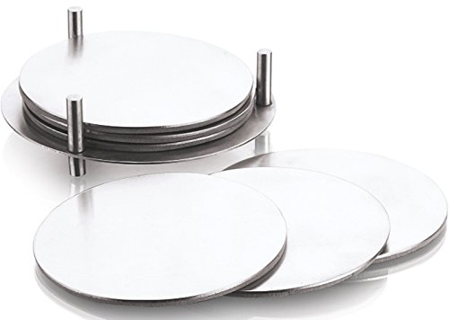 king-international-stainless-steel-round-coaster-set-of-6-pcs