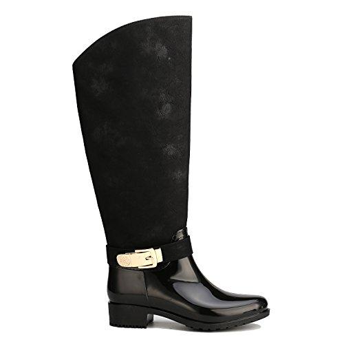... Alexis Leory Cowboy Western, Stivali di gomma alti donna Nero ...
