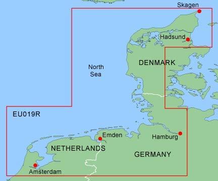 garmin seekarten Garmin HXEU019R - Alborg to Amsterdam, 010-C0776-20