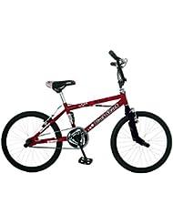 """Frejus 20"""" BMX ECO - Bicicleta para niño, color rojo"""