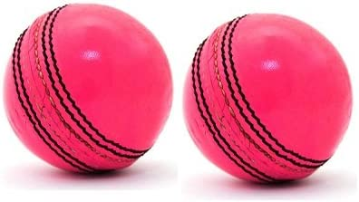 Dixon Leather Cricket Pink Ball Pack of 2 (Pink)