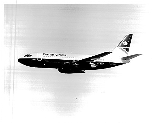 vintage-photo-of-british-airways-plane-with-the-companys-new-logo-and-visual-identity