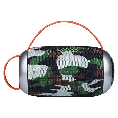 Jamicy Mini Haut-Parleur Bluetooth Portable sans Fil Enceinte Bluetooth Stéréo Subwoofer Enceinte Portable M F