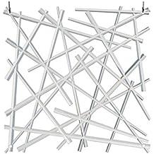 koziol stixx b1 decoracin separador de ambientes cortina decorativa transparente 1104535