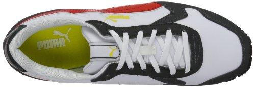 Puma ST-Runner 356224 Unisex-Erwachsene Sneaker Grau (glacier gray-high risk red 01)