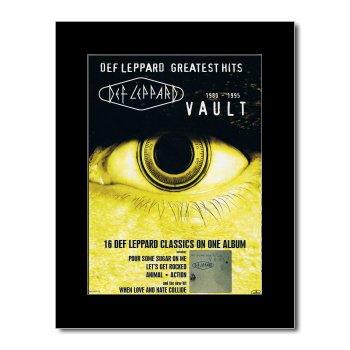 DEF LEPPARD - Vault Matted Mini Poster - 28.5x21cm