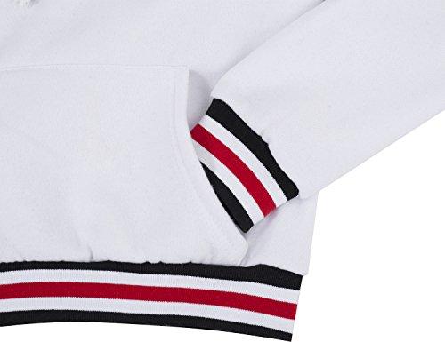 Yidarton Damen Kapuzenpullover Langarm Pulli Hoodies Sweatshirt Kapuzenjacke Outerwear Pullover Weiß