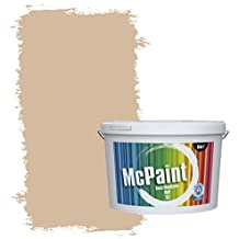 McPaint Colourful Wall Paint, in Brown and Dark Colour Tones. Further Sizes Available, Brown