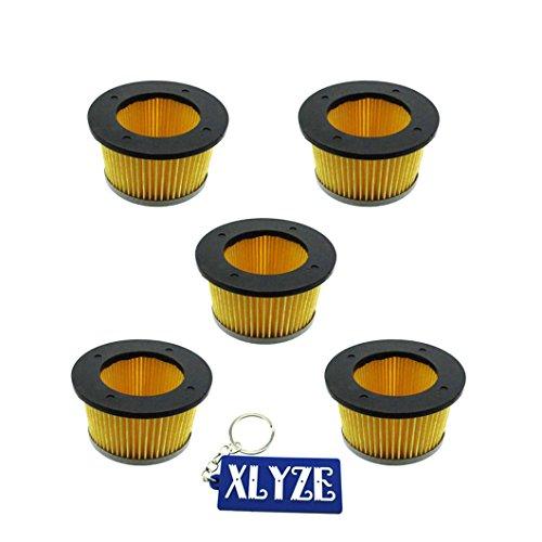 Xlyze filtre à air 5 pcs pour Cub Cadet Tc-30727 488619 488619-r1 Tecumseh 30727 Lesco 050113 John Deere Am30900