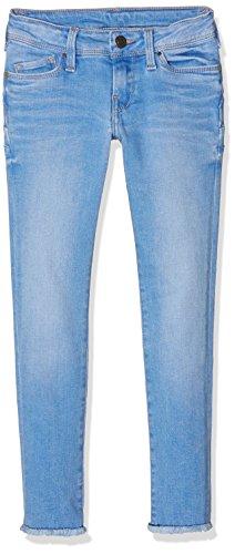 Teddy Smith Pin Up, Jeans Bambina, Bleu (Pacific Blue), 10 anni