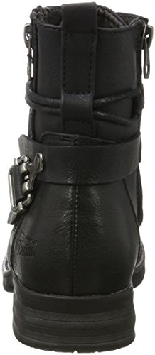 TOM TAILOR Damen 3795603 Stiefel Schwarz (Black)