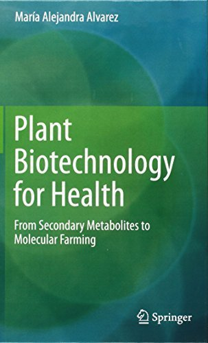 Plant Biotechnology for Health: From Secondary Metabolites to Molecular Farming by Maria Alejandra Alvarez (2014-09-16)