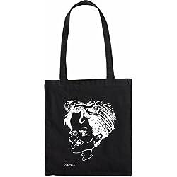 Mister Merchandise Sac de Courses à Main Andre Schürrle Shopper Shopping, Couleur: Noir