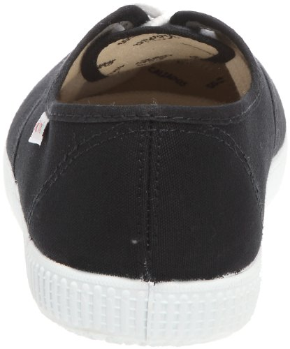 Victoria Inglesa Lona Unisex - Erwachsene Sneaker Schwarz (Schwarz)