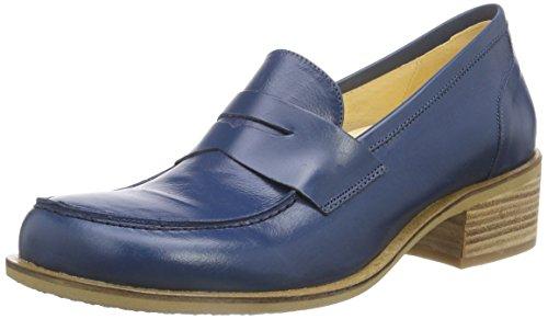 John W. Shoes Shada, Mocassins femme Bleu - Blau (marino)