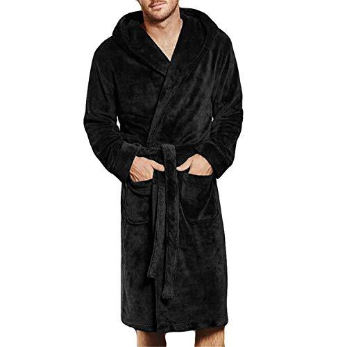 Otoño Invierno tamaño 7XL Bata baño Kimono Hombre
