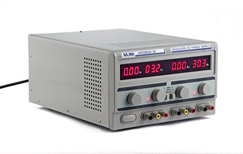 SATKIT MLINK APS3005S-3D- 30V, 5A Fuente Alimentacion Triple Salida regulable con display digital