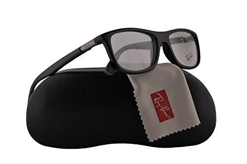 Ray-Ban RX8951 Brillen 53-19-145 Matt Schwarz Mit Demonstrationsgläsern 5605 RX 8951 RB 8951 RB8951