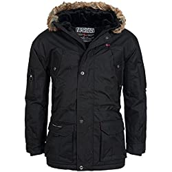 Geographical Norway Atlas 1 Men Parka Veste Homme Noir T:XXL