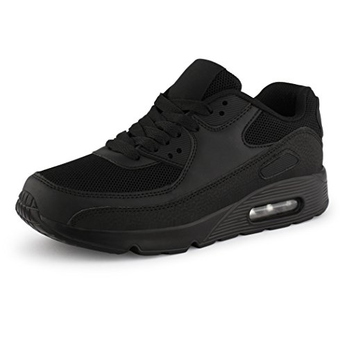 best-boots, Sneaker unisex adulto Neu Black seven